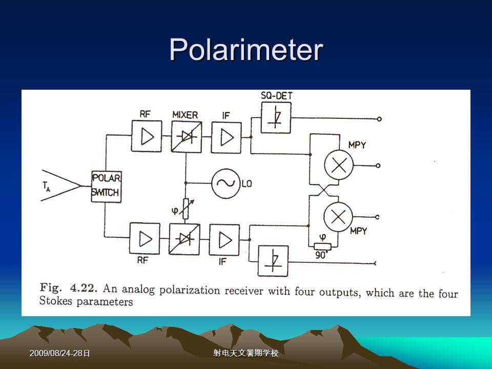 2009/08/24-28 Polarimeter