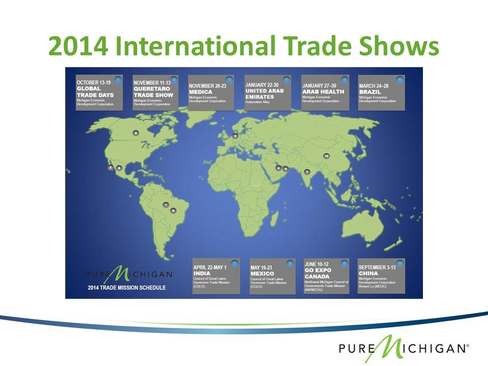 2014 International Trade Shows