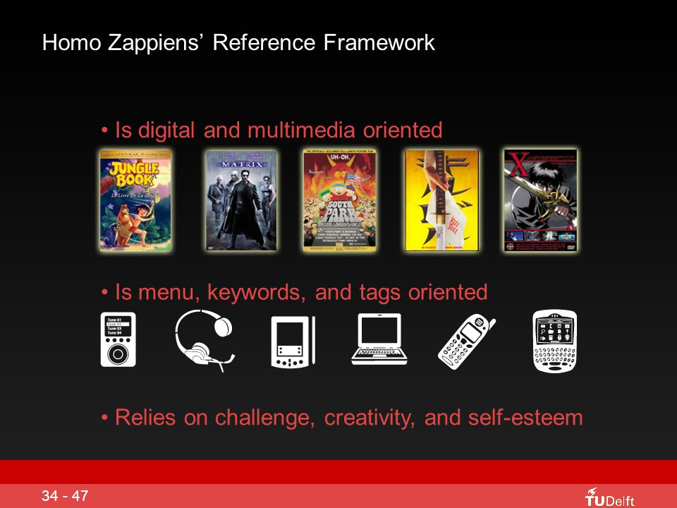 Homo Zappiens Develops Meta Cognitive Skills Enquiry based approaches Networked learning Experiential learning Collaborative learning Active learning