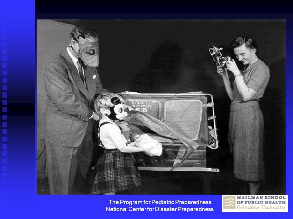 The Program for Pediatric Preparedness National Center for Disaster Preparedness