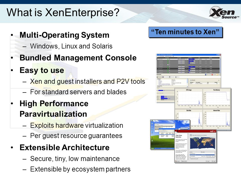 What is XenEnterprise.
