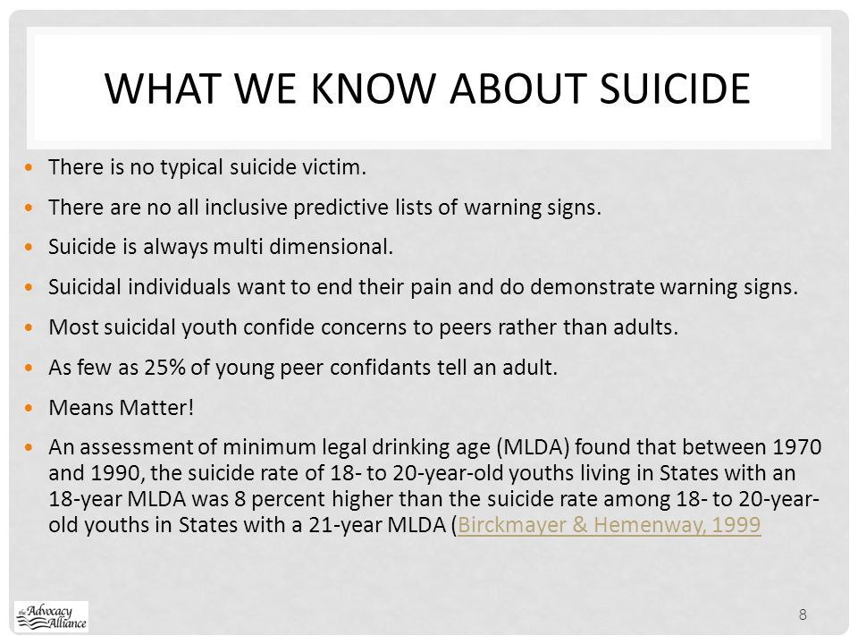 LGBT ISSUES Suicide is the 3 rd, 2 nd leading cause of death among 15 to 24 year olds.