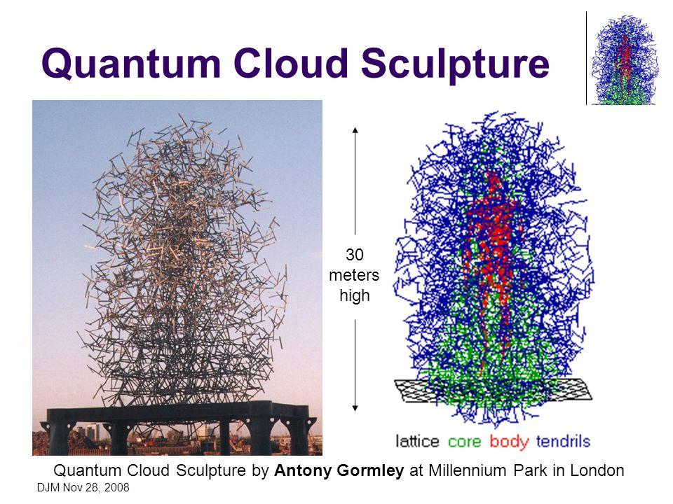 DJM Nov 28, 2008 Quantum Cloud Sculpture Quantum Cloud Sculpture by Antony Gormley at Millennium Park in London 30 meters high