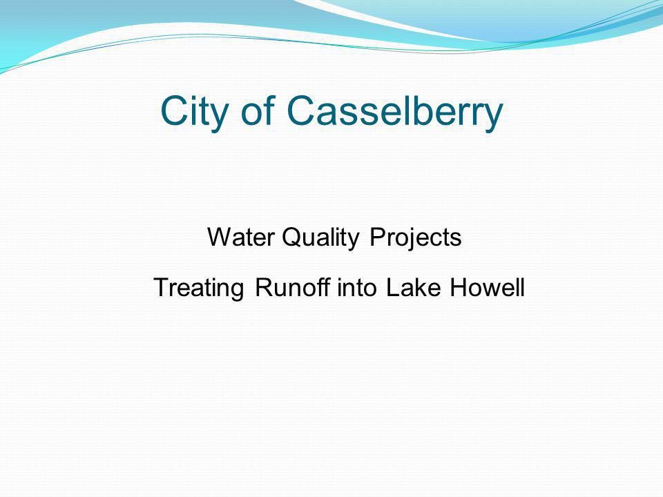 City of Casselberry Water Quality Projects Treating Runoff into Lake Howell