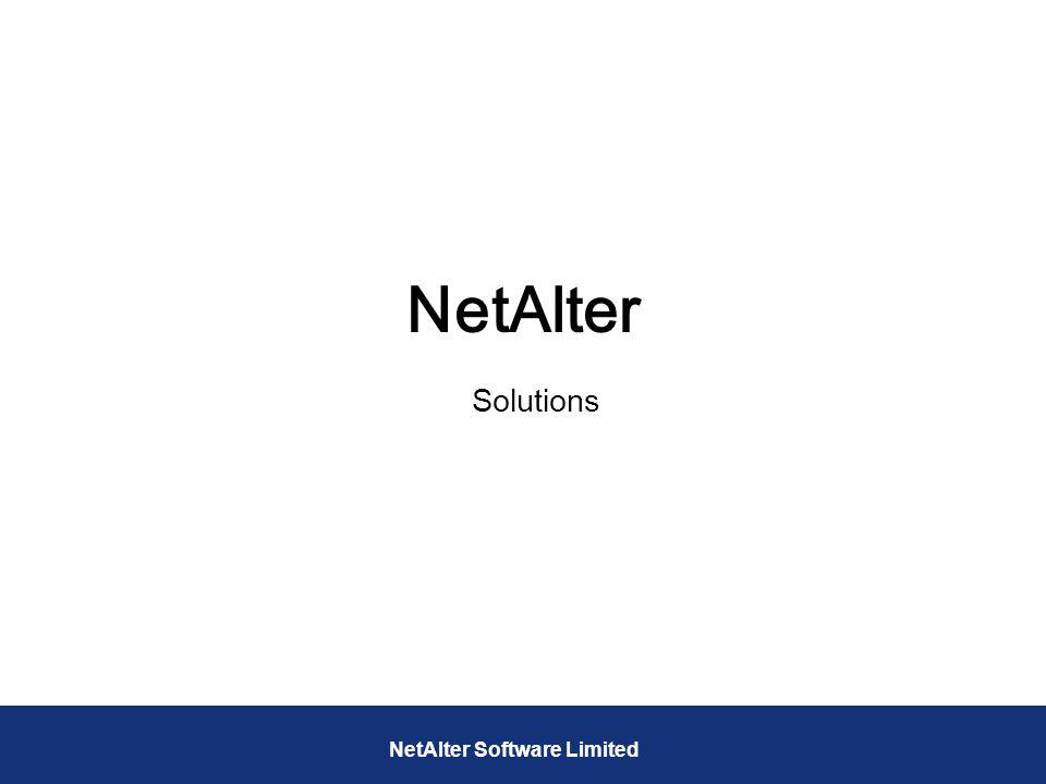 NetAlter Solutions NetAlter Software Limited