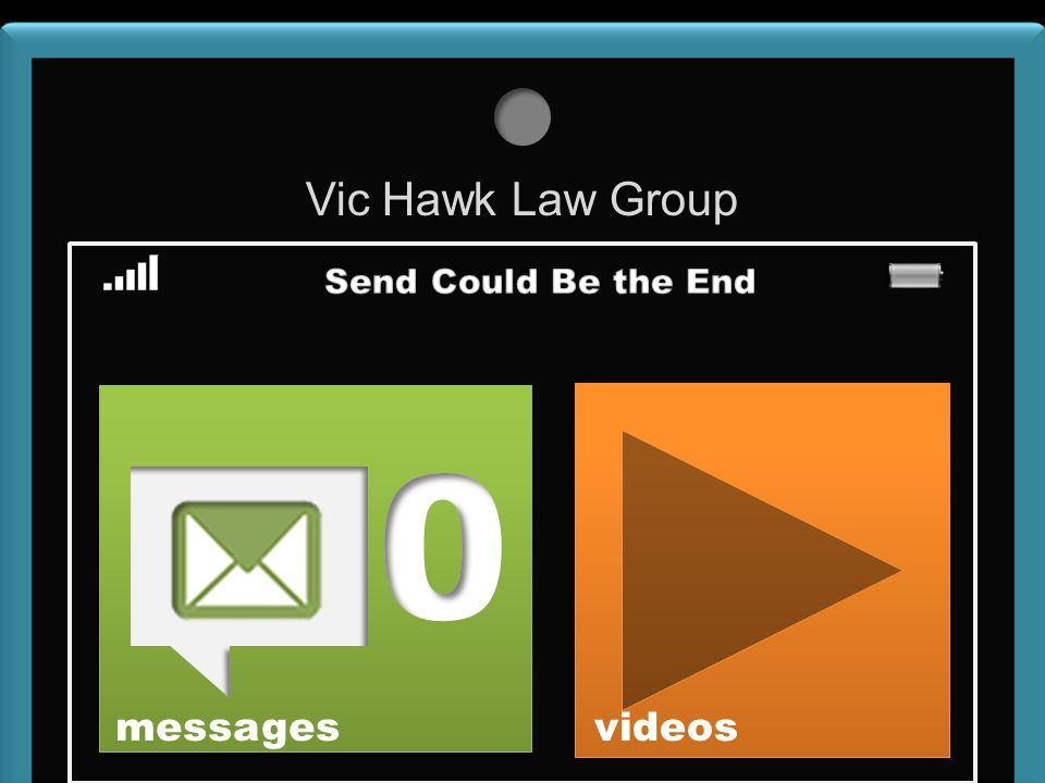 Vic Hawk Law Group messages videos