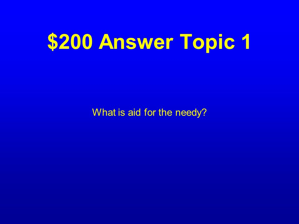 $200 Question Topic 1 The meaning of the term relief.