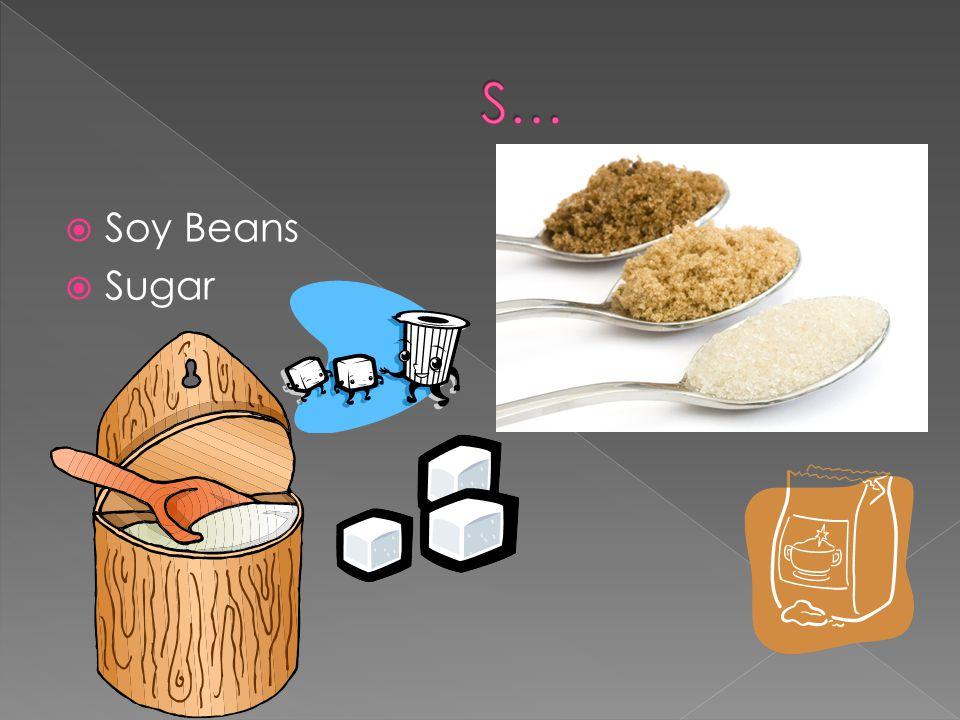 Soy Beans Sugar