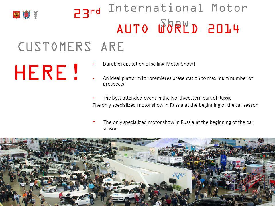 International Motor Show 23 rd