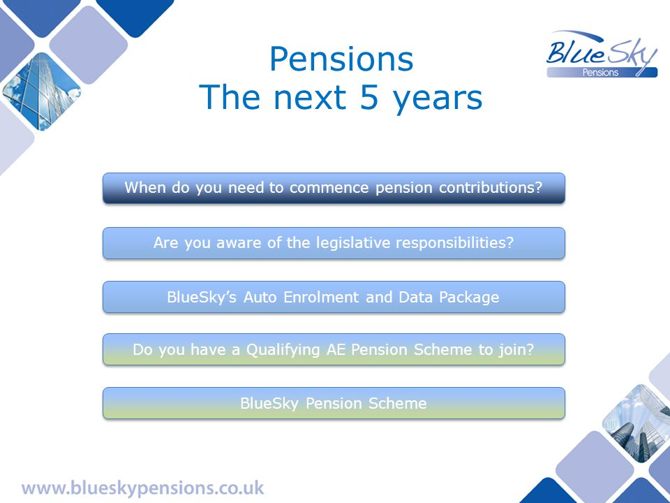 From October 2012, any employer with employees being paid by PAYE has been required, by Government legislation, to nominate a qualifying workplace pension scheme and auto-enrol certain categories of its employees.