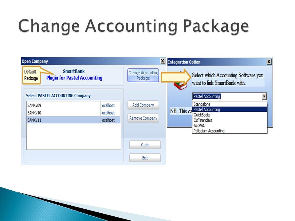 Browse C drive or ServerANY Pastel version Open Company