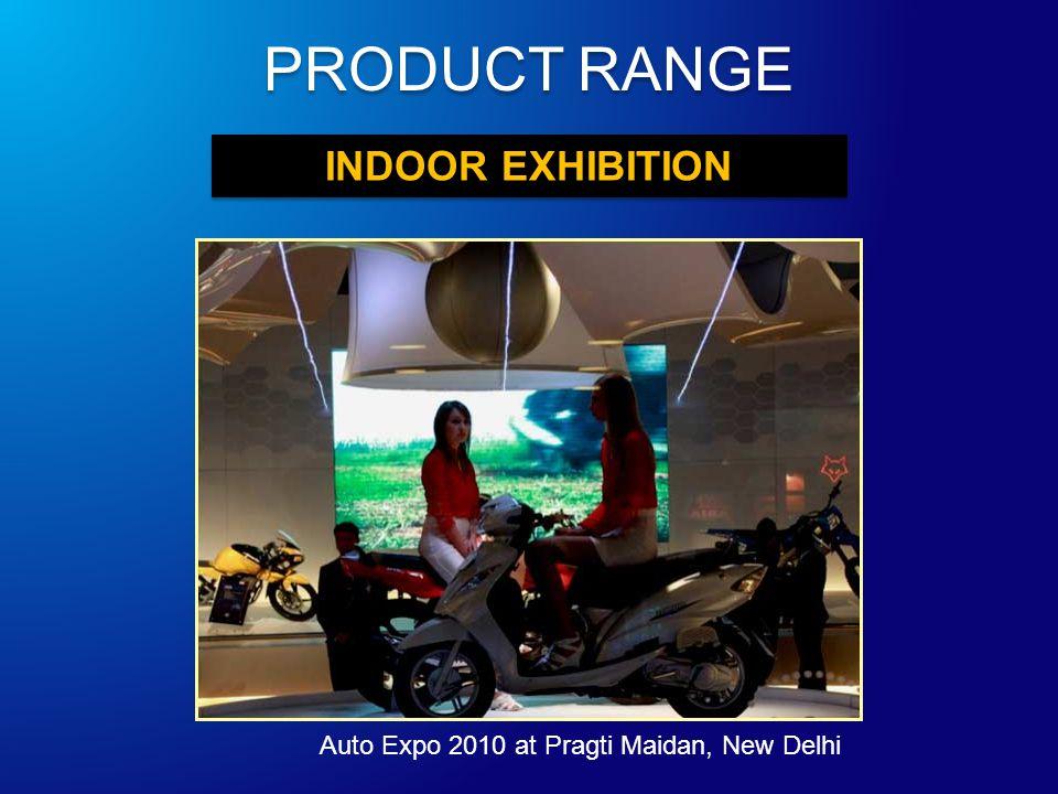 INDOOR EXHIBITION Auto Expo 2010 at Pragti Maidan, New Delhi