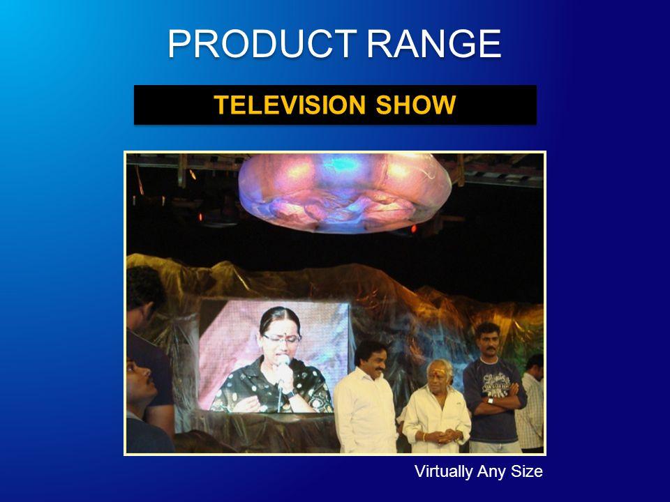 TELEVISION SHOW Virtually Any Size