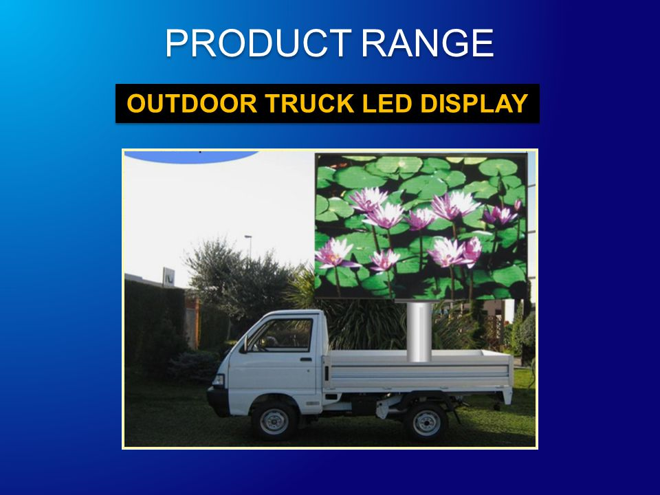 OUTDOOR TRUCK LED DISPLAY