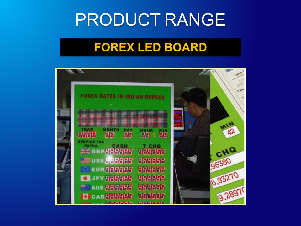 FOREX LED BOARD