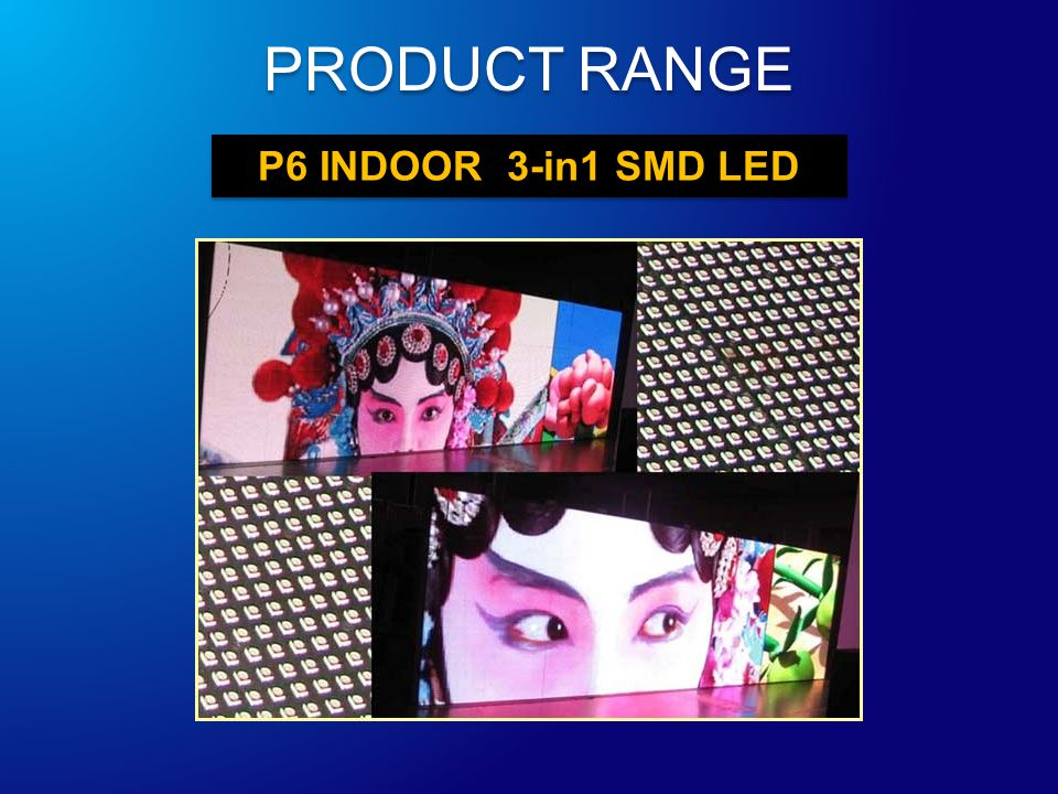 P6 INDOOR 3-in1 SMD LED