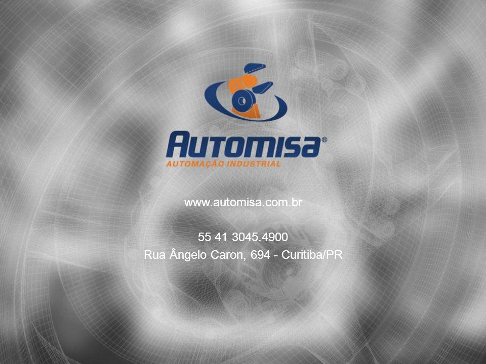 www.automisa.com.br 55 41 3045.4900 Rua Ângelo Caron, 694 - Curitiba/PR