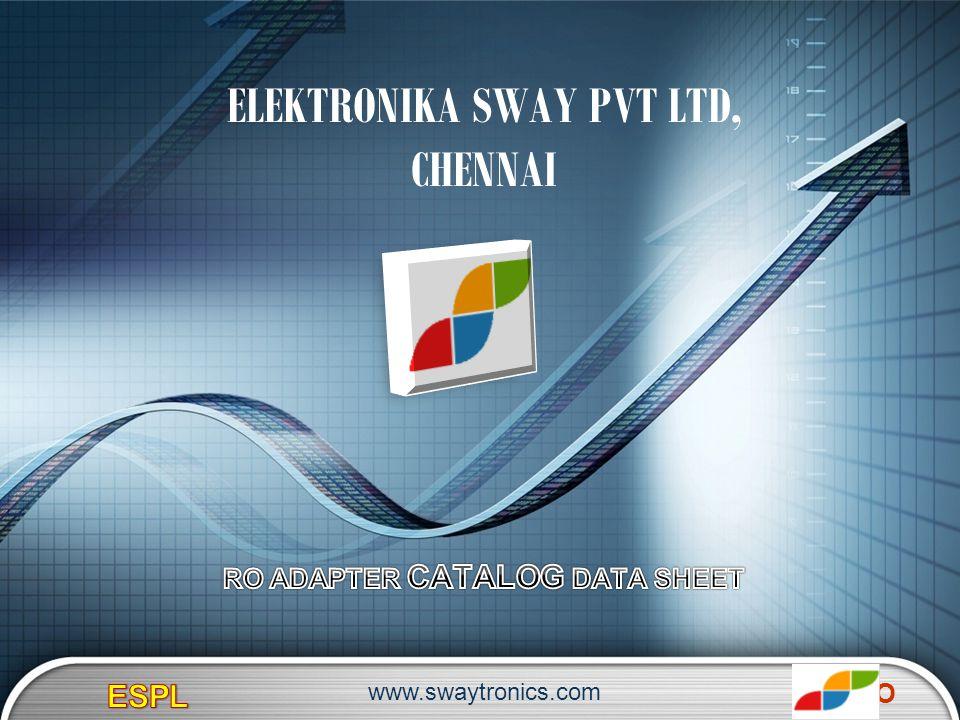 LOGO ELEKTRONIKA SWAY PVT LTD, CHENNAI www.swaytronics.com