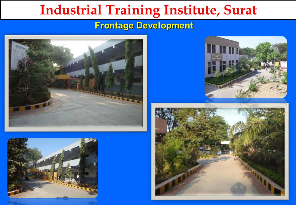 ENTRANCE OF ITI Industrial Training Institute, Surat Frontage Development