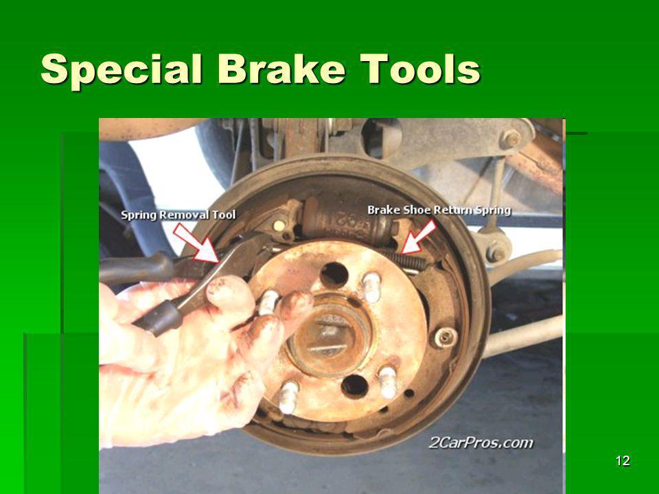 12 Special Brake Tools