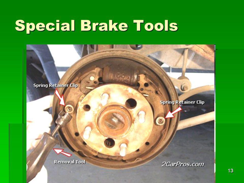 13 Special Brake Tools