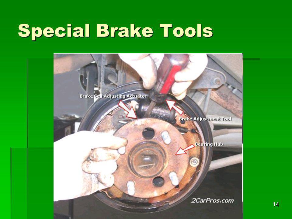 14 Special Brake Tools