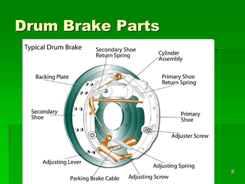 6 Drum Brake Parts