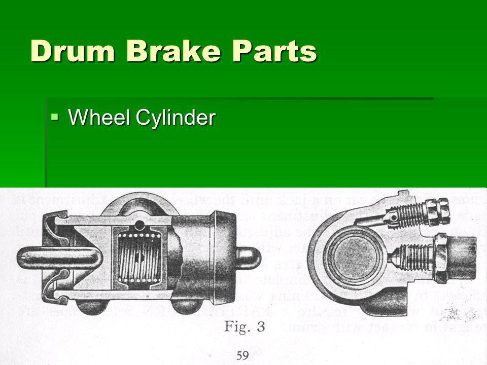 8 Drum Brake Parts Wheel Cylinder Wheel Cylinder