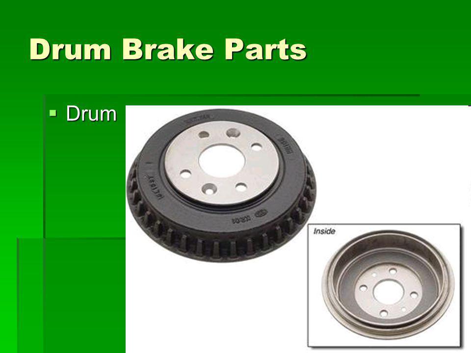 9 Drum Brake Parts Drum Drum