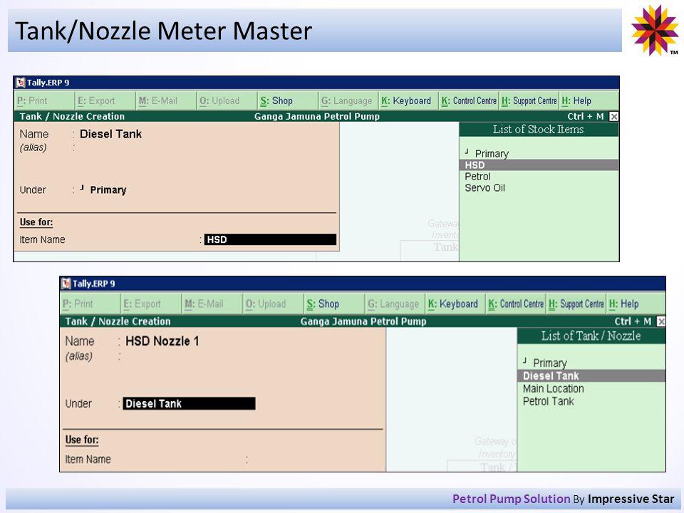 Tank/Nozzle Meter Master Petrol Pump Solution By Impressive Star