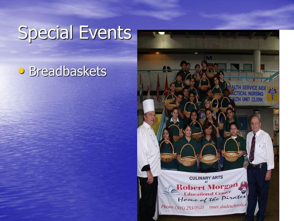 Special Events Breadbaskets