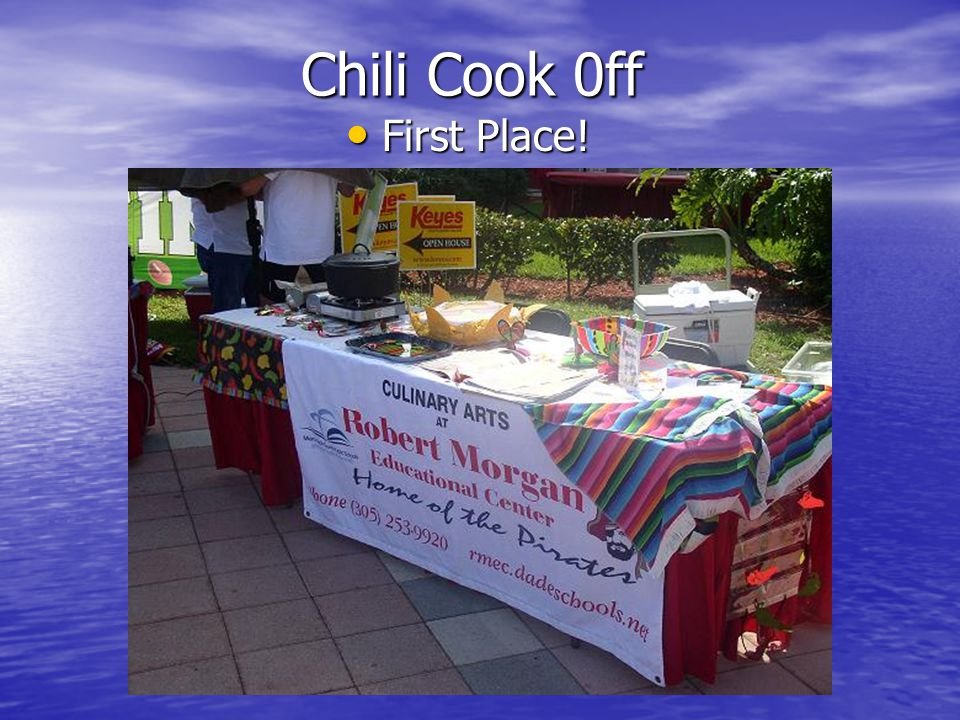 Chili Cook 0ff First Place! First Place!