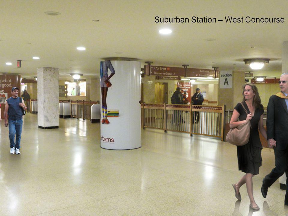 Suburban Station – West Concourse