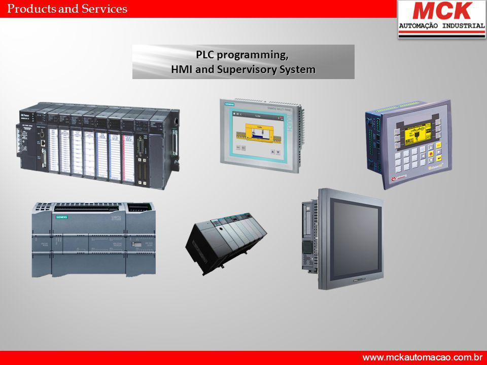 PLC programming, HMI and Supervisory System HMI and Supervisory System Products and Services