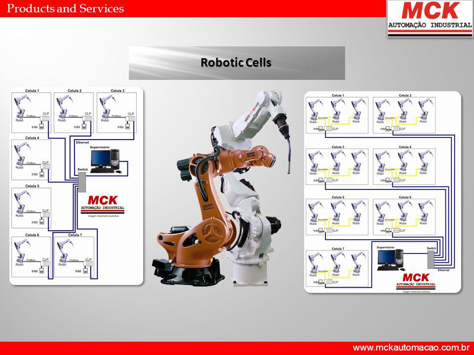 Robotic Cells Products and Services