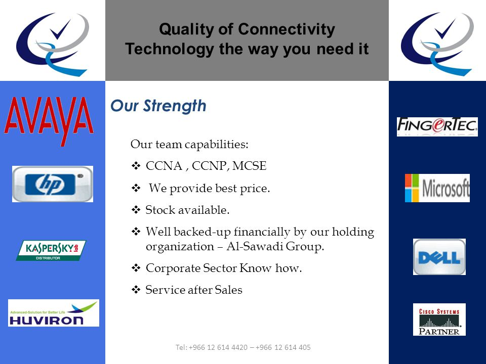 Our team capabilities: CCNA, CCNP, MCSE We provide best price. Stock available. Well backed-up financially by our holding organization – Al-Sawadi Gro