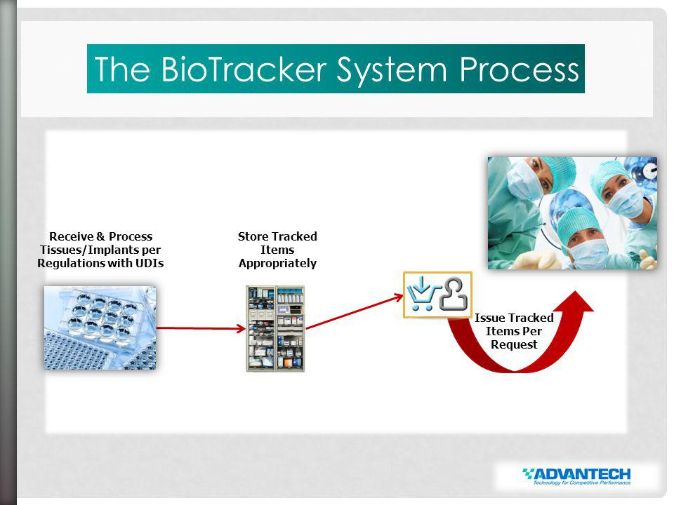 Levels of Access TechnicianAdministrator The BioTracker System allows the definition of multiple levels of access.
