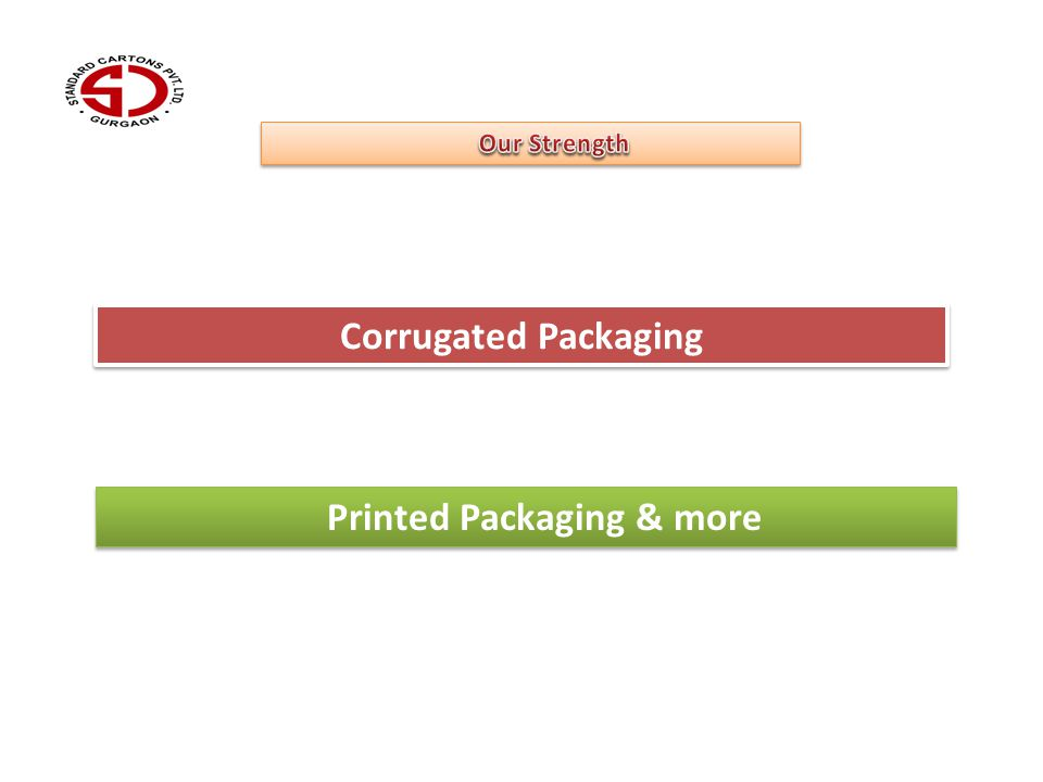 Corrugated Packaging Printed Packaging & more
