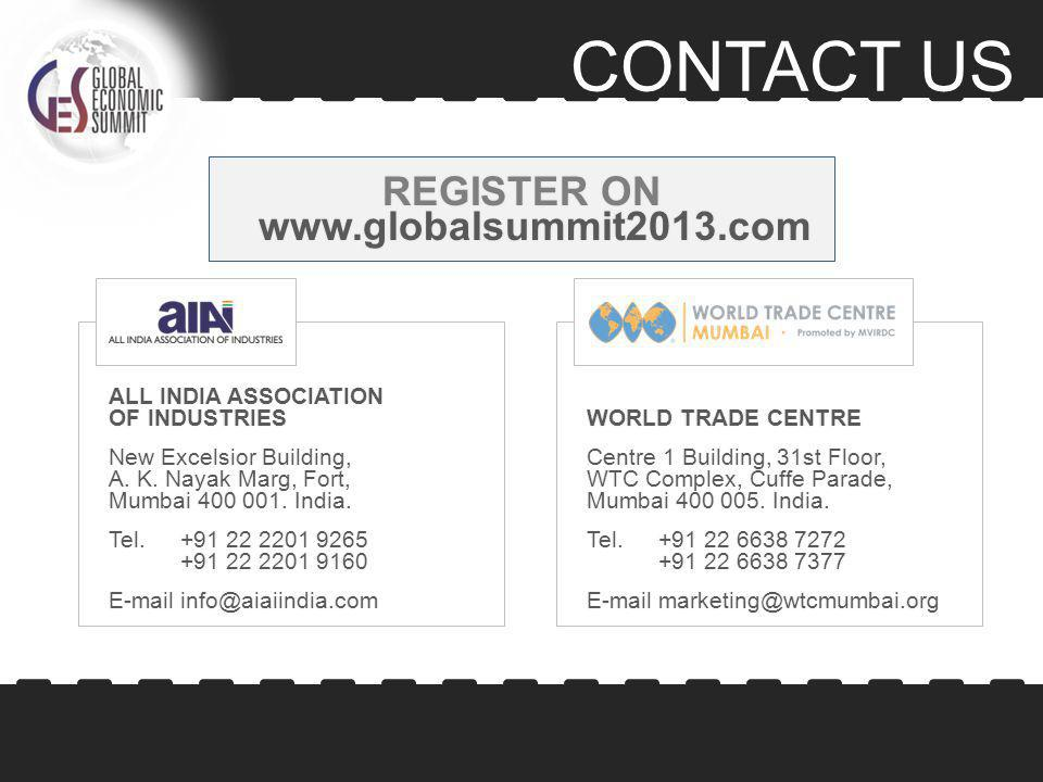 CONTACT US ALL INDIA ASSOCIATION OF INDUSTRIES New Excelsior Building, A.