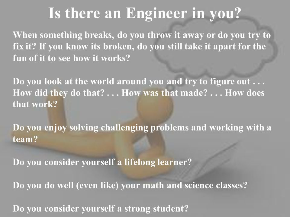 Why is Engineering a Great Career Choice.