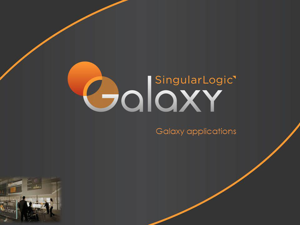 Galaxy applications