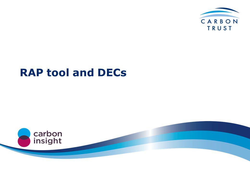 RAP tool and DECs