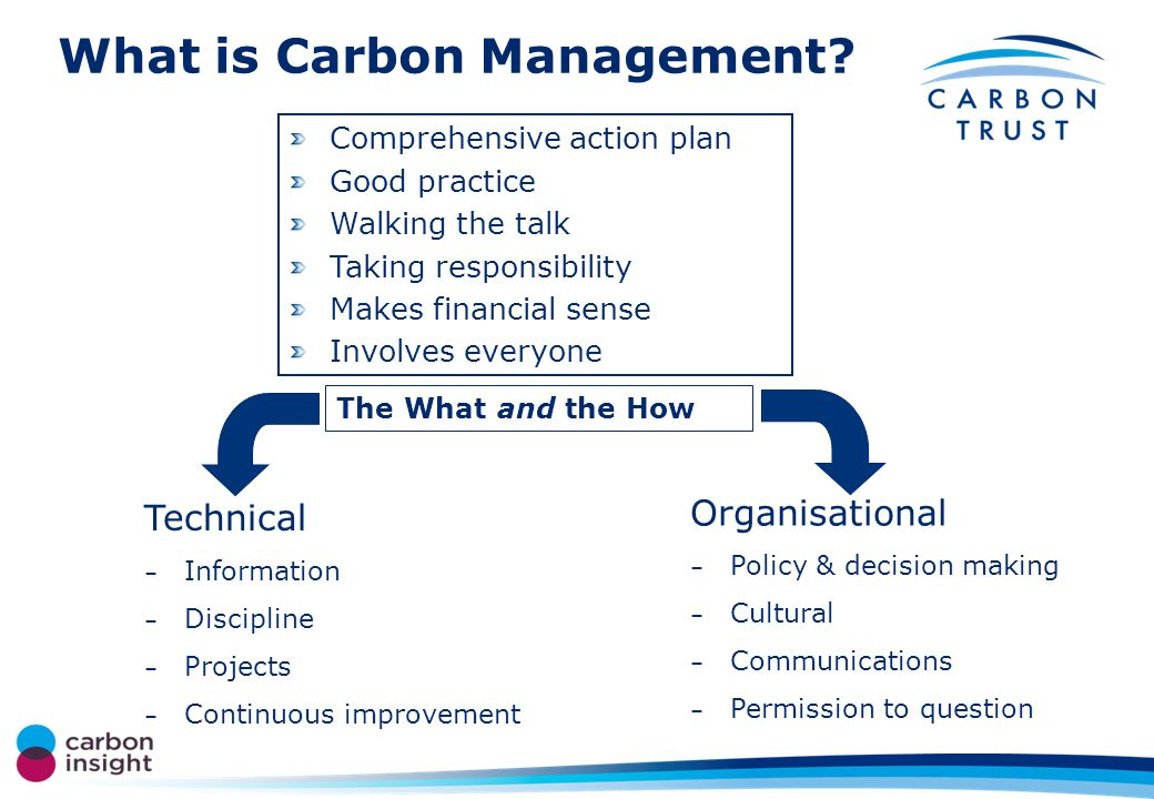 What is Carbon Management.
