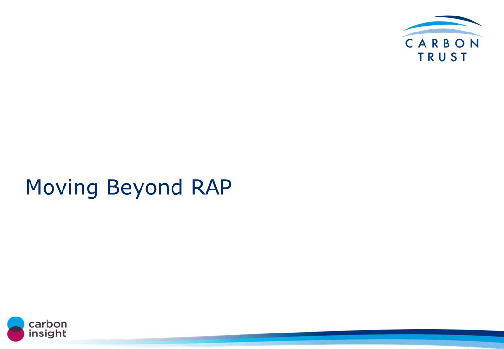 Moving Beyond RAP