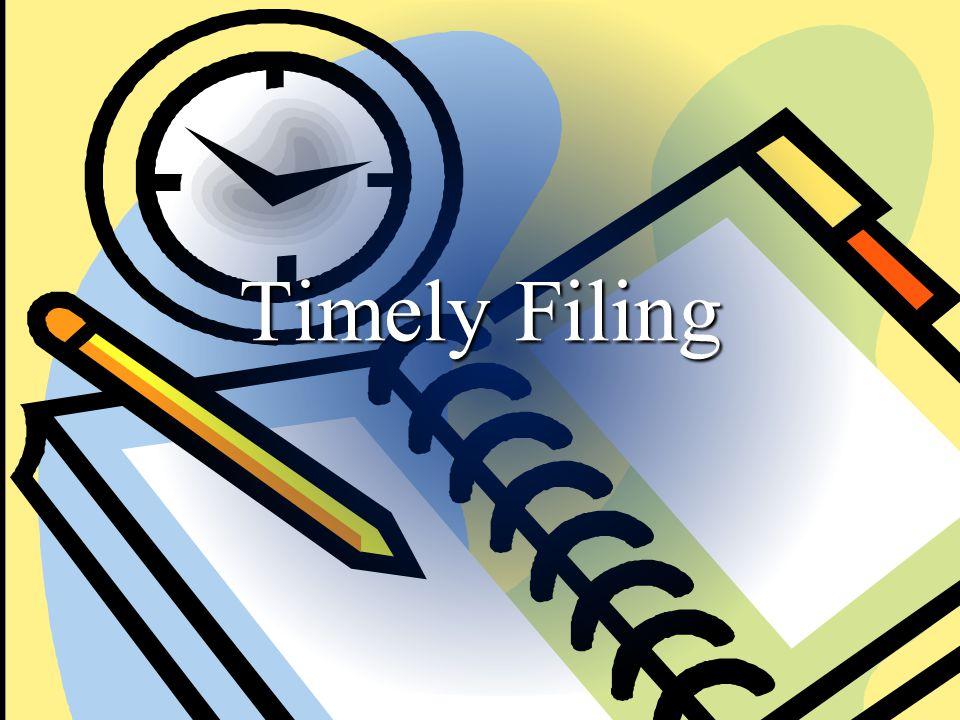 2012 FEC Information Division Timely Filing