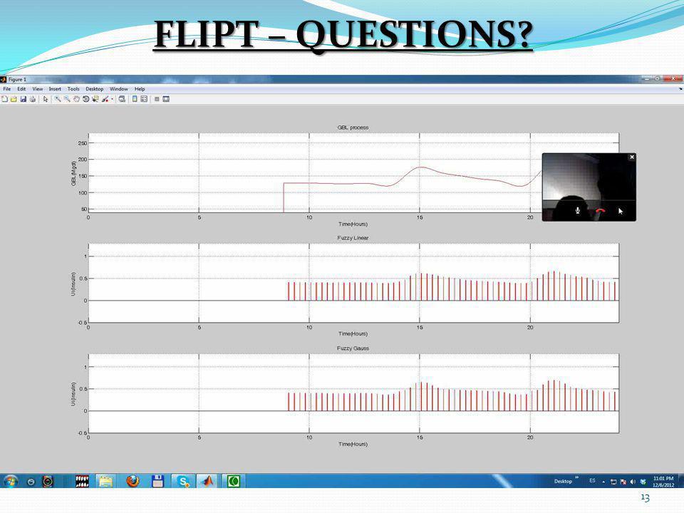 13 FLIPT – QUESTIONS?