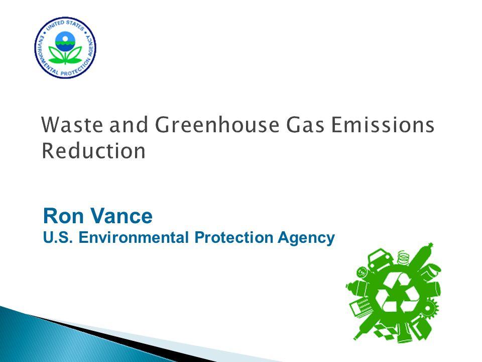 Questions? Ron Vance U.S. Environmental Protection Agency (703)347-8951 vance.ronald@epa.gov