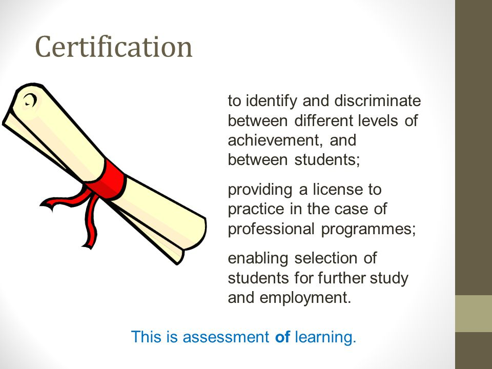 Conclusion Addressing student dissatisfaction and staff workloads requires us to: -Balance the different purposes of assessment; -Encourage and reward student engagement; -Ensure that students study efforts are directed towards meaningful learning; -Provide sufficient low stakes, informal assessment and feedback for students to grasp both the standards required and the strategies needed to achieve them.