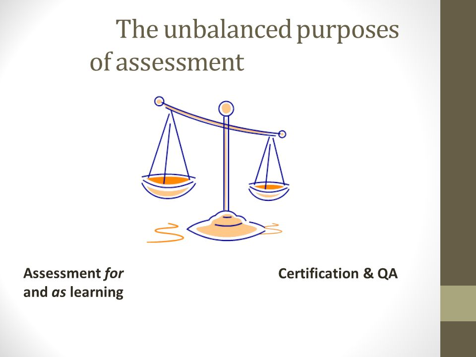 Engaging students in formative assessment – key requirements It clearly feeds into summative assessment tasks; The students must submit it in some way (bring to class, post on line, hand it in) and action is taken if they dont; Students receive useful feedback on it; It is not contaminated by summative purposes.