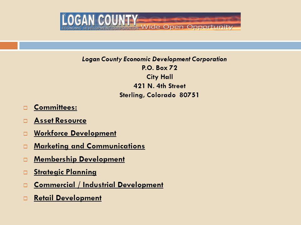 Logan County Economic Development Corporation P.O.